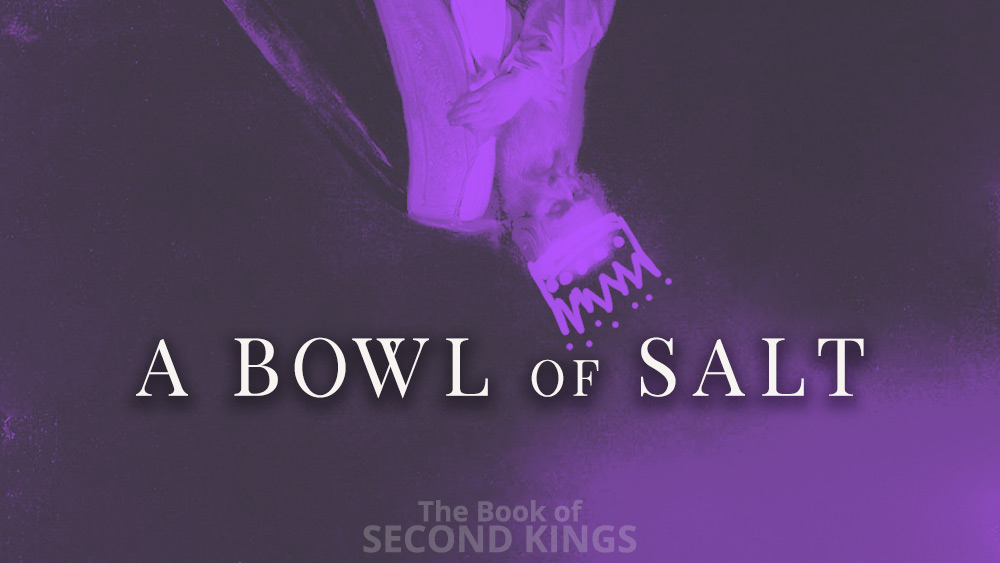 A Bowl of Salt | 2 Kings 2 and 3 Image